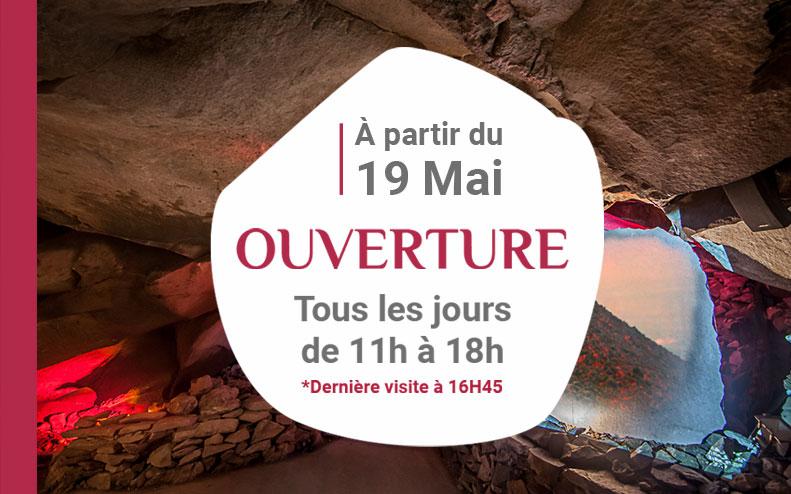 Ouverture de la Grotte de la Pierre le 19 Mai